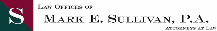 Law Offices of Mark E. Sullivan P.A., logo